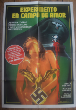 SS Experiment Love Camp (1976) - Paola Corazzi | Argentinian Movie Poster